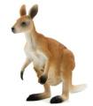 MOJO KANGAROO HAND PAINTED REPLICA WILD ANIMAL COLLECTABLE TOYS FIGURES 387022