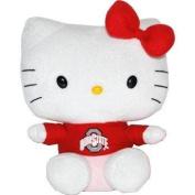 Plushland Inc. Ohio State Hello Kitty 15cm * Sanrio Toy New Plush 80-136