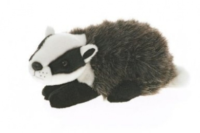 30cm Badger Plush Stuffed Animal Toy