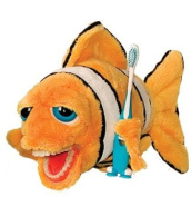 StarSmilez Kids Tooth Brushing Buddy- Lil Plush Clownfish