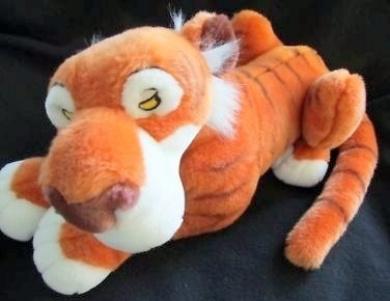 Disney Store the Jungle Book Large Big Shere Khan Tiger Plush Stuffed Animal Soft Toy 46cm Rare