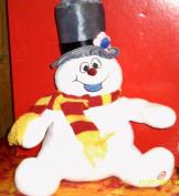 Classic Frosty the Snowman Light-up Singing Hallmark Plush Toy