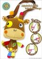 Eco Snoopers Loop-de-loo Giraffe 3-way Purse