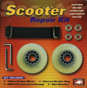 Lion Sports Replacement Scooter Wheels Bearings Strap Scooter Repair Kit
