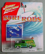 Johnny Lightning Surf Rods 1955 Ford Panel Delivery GREEN