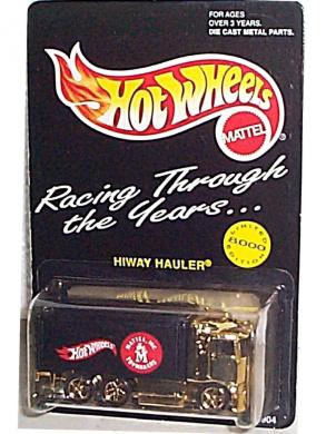 Hot Wheels - Mattel Toymakers - Hiway Hauler - Limited Edition (8,000) - Transport Truck Replica (6-Wheels, Dual Rear Axle)