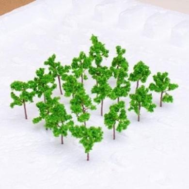 Model Pine Tree Train Set Scenery Landscape N Z - Approx. 50PCS