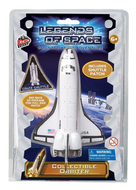 Space Exploration Toy Rocket Set - Legends of Space - 13cm Tall Shuttle Orbiter Ship