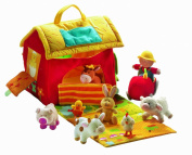 Lilliputiens The Farm House and the Animals By Lilliputiens