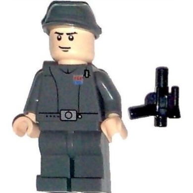 LEGO Star Wars Minifig Imperial Officer Imperial Shuttle Commander