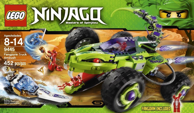 Ninjago Set 9445 Du Serpent Fangtom Figurine Lego fb7g6y