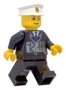LEGO® City Policeman Minifigure Clock