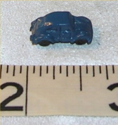 Dollhouse TOY, VOLKSWAGON BEATLE, BLUE