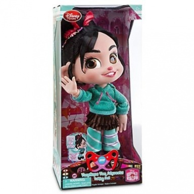 Disney Wreck-It Ralph Vanellope Von Schweetz Talking Doll - 12'' H