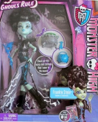 Monster High GHOULS RULE FRANKIE STEIN DOLL w Cauldron & MORE!
