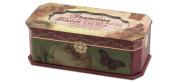 Cottage Garden Grandma Belle Papier Petite Musical Jewellery Box Inspirational with Vintage Romance Finish Plays Amazing Grace