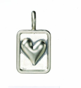 Ganz Charms - Symbol Heart Square