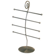 Decorative Jewellery Stand Organiser 4 T-Bars Bracelets Necklaces Rings