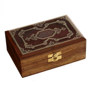 Handmade Jewellery Box Wood Carved Unusual Gifts for Sister