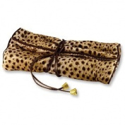 Travel Jewellery Roll Leopard