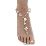 Shell and Beads Barefoot Sandal
