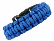 Paracord Survival Bracelet - Royal Blue - 19.1cm - Para21
