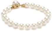 Majorica 1 Row White 8mm Bracelet
