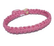 Pink Surfer Hawaiian Style Hemp Bracelet - Handmade