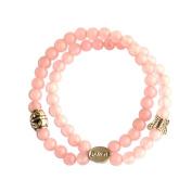 Rose Quartz Multistrand Fertility Bracelet