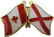 Alabama - Canada Friendship Lapel Pin