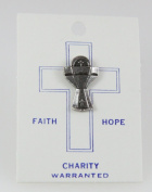 6030086 Religious Chalice Communion Cup Christian Lapel Pin