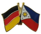 Philippines - Germany Friendship Pin