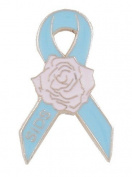 SIDS Awareness Rose Lapel Pin