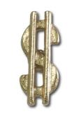 Dollar Sign Lapel Pin