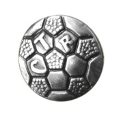 LDS Soccer CTR Choose the Right Steel Tie Tack with Silver Finish- Tie Pin, LDS Missionary, Priesthood Gift, Baptism Gift