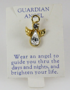 6030084 Guardian Angel Lapel Pin Brooch Tack Pin Christian Religious Jewellery