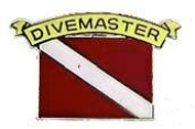 New Collectable Scuba Diving DiveMaster Hat & Lapel Pin