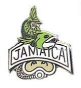 New Collectable Jamaica Scuba Diving Hat & Lapel Pin