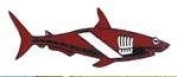 New Collectable Megalodon - Great White Shark Hat Pin