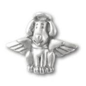 Dog Angel Lapel Pin