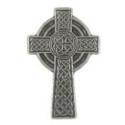 Celtic Cross Lapel Pin