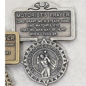 Motorist Prayer Visor Clip