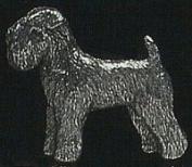 Pewter Wheaten Terrier Pin