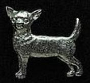 Pewter Chihuahua Pin