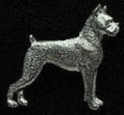 Pewter Boxer Pin