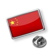 "Pin ""China Flag"" - Lapel Badge - NEONBLOND"