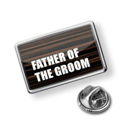 """Pin """"Father of the Groom Wedding"""" - Lapel Badge - NEONBLOND"""