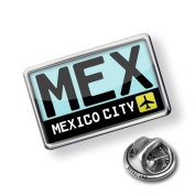 """Pin """"Airport code """"MEX / Mexico City"""" country"""