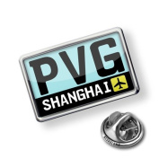 """Pin """"Airport code """"PVG / Shanghai"""", country"""
