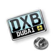 "Pin ""Airport code ""DXB / Dubai"" country"